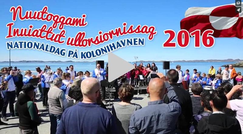 Grønlands nationaldag 2016 i Nuuk