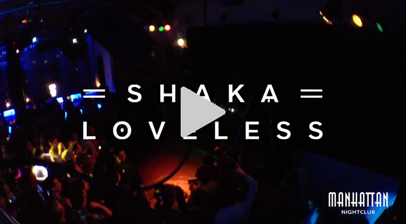 Shaka Loveless på Manhattan Nightclub 2014