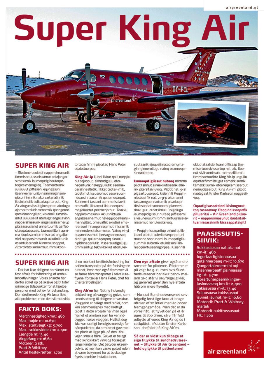 Air Greenland plakat