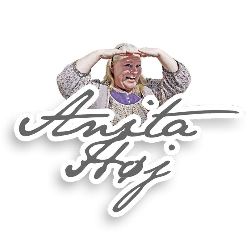 Anita Høj logo design
