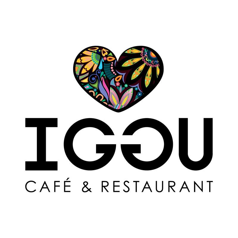 Café Iggu logo design