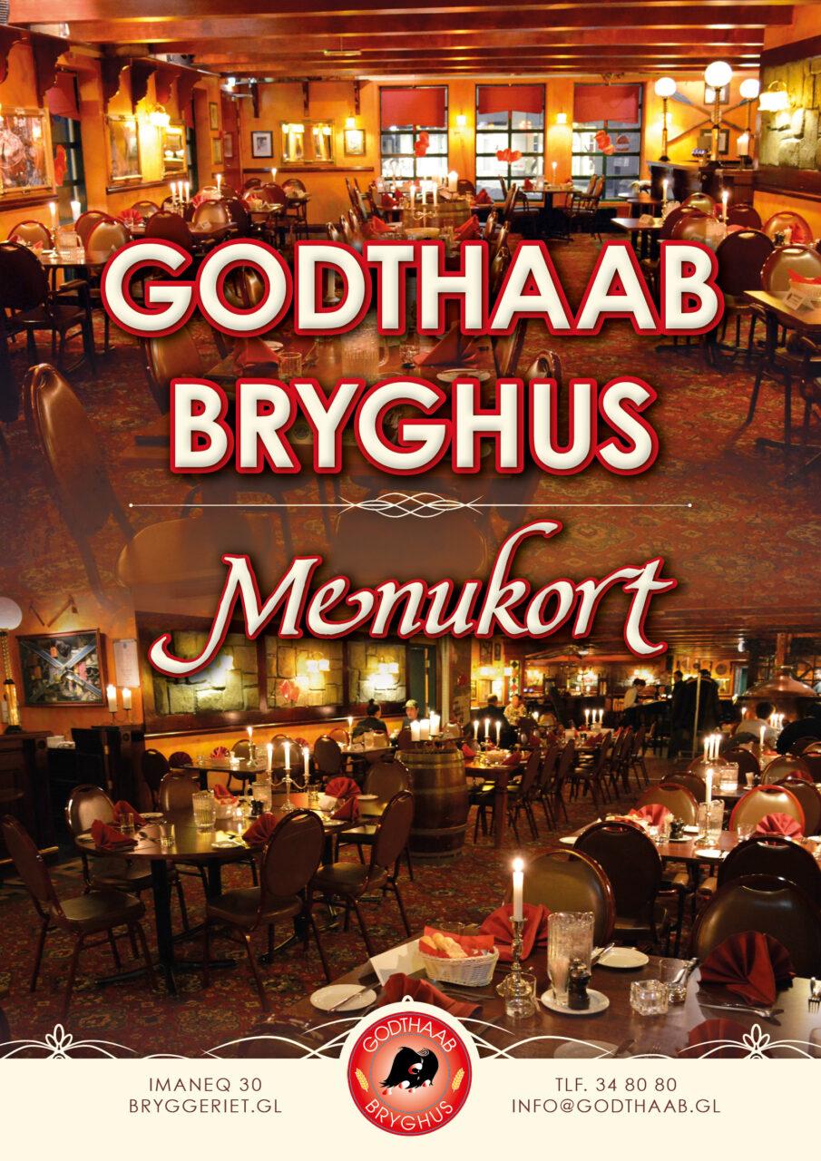 Godthaab Bryghus menukort