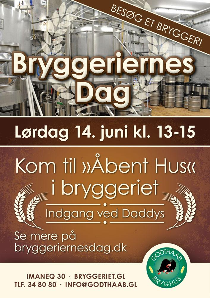 Godthaab Bryghus plakat