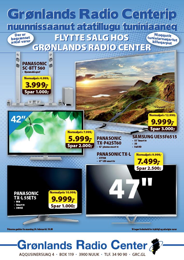 Grønlands Radiocenter annonce