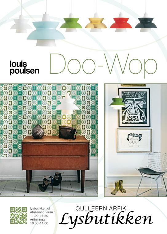 Lysbutikken annonce Doo Wop