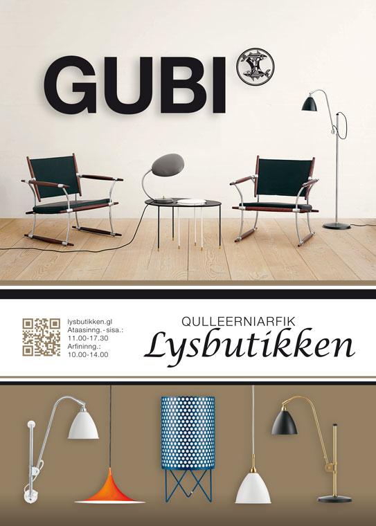 Lysbutikken annonce Gubi
