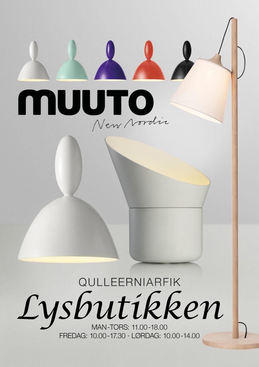 Lysbutikken annonce Muuto