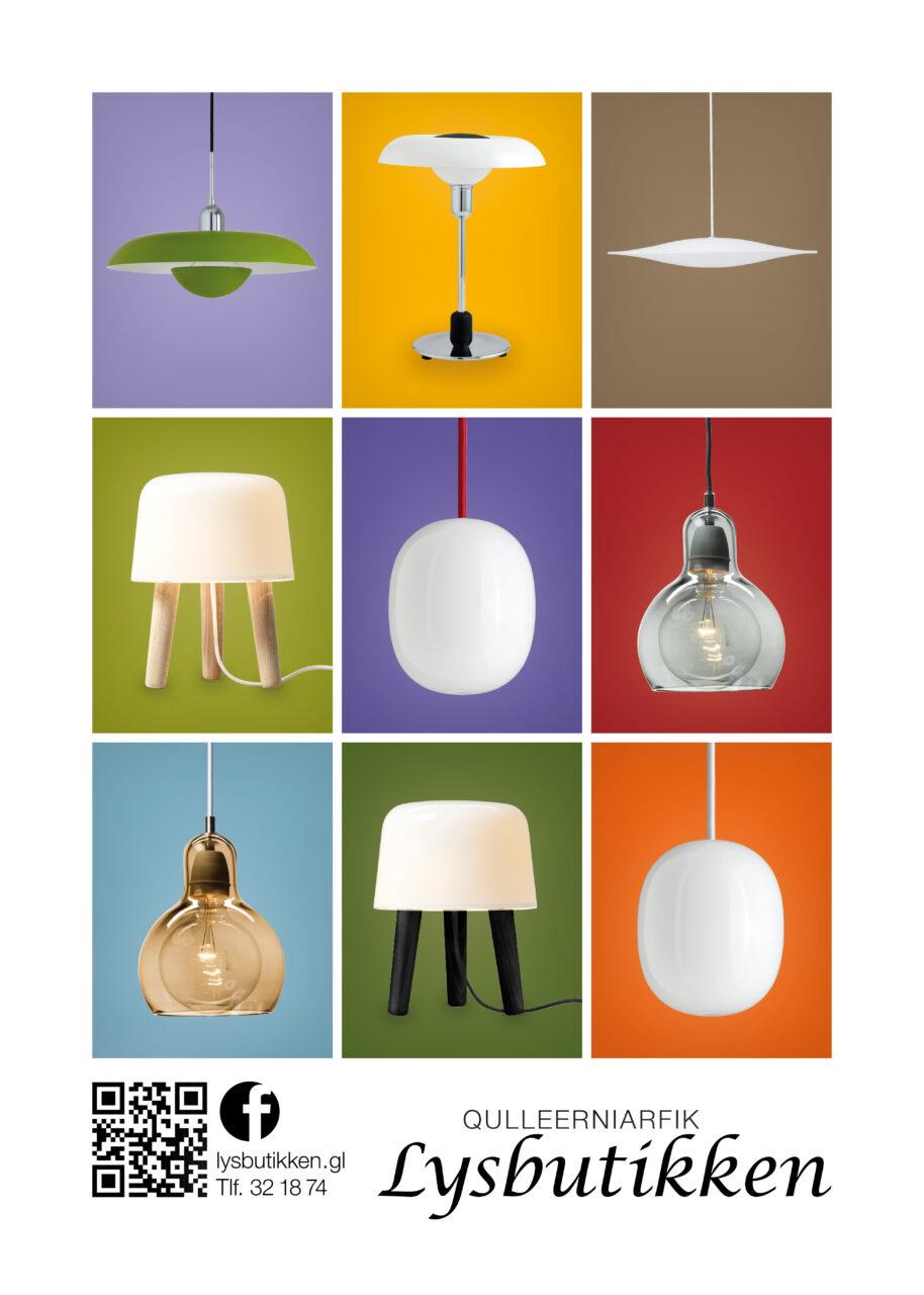 Lysbutikken annonce Piet Hein