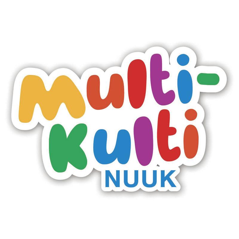 Multi-Kulti Nuuk logo design