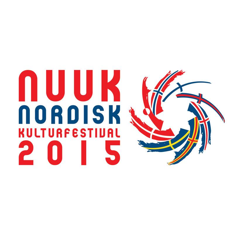 Nuuk Nordisk Kulturfestival 2015 logo design