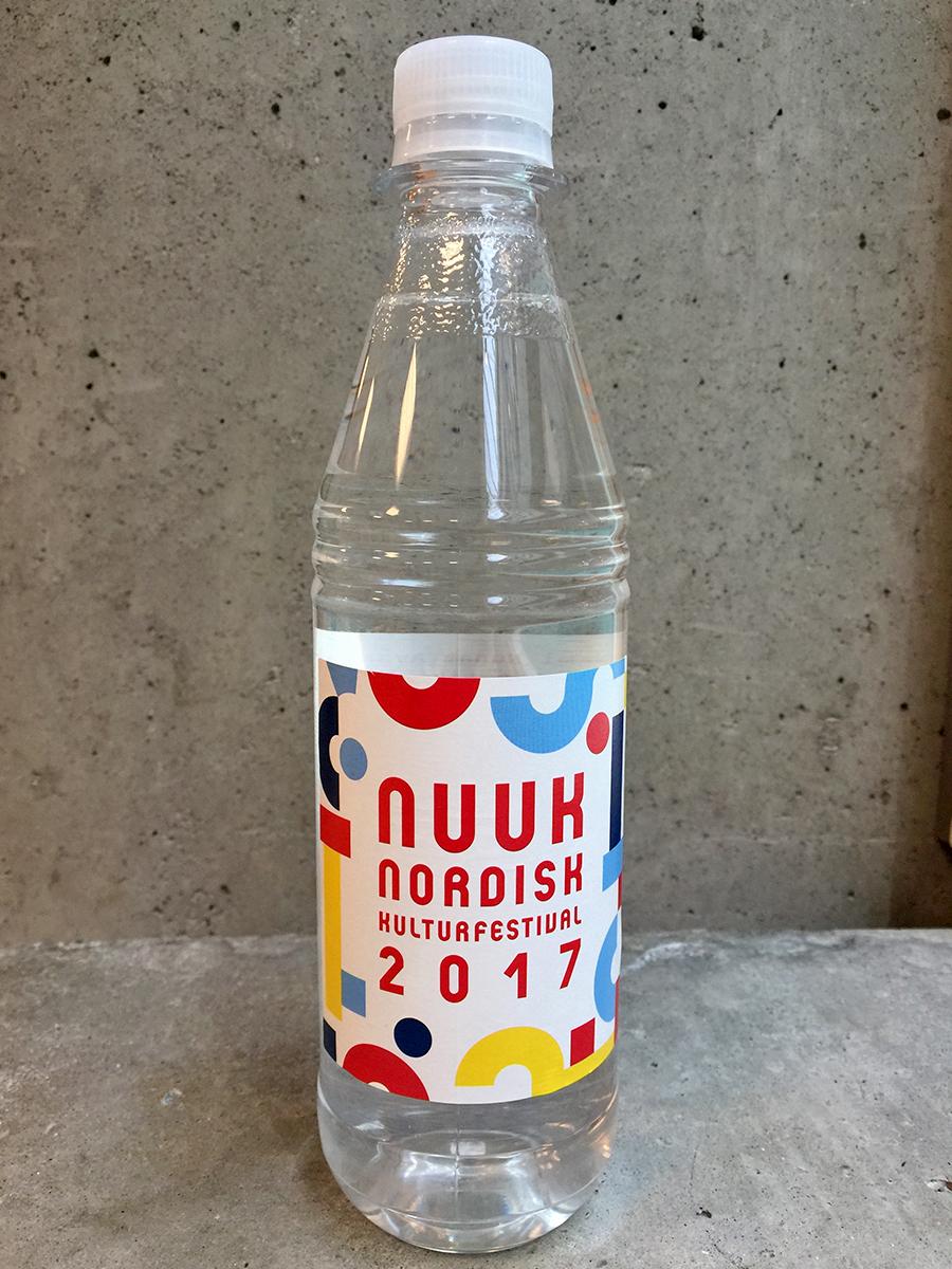 Nuuk Nordisk Kulturfestival vandflaske