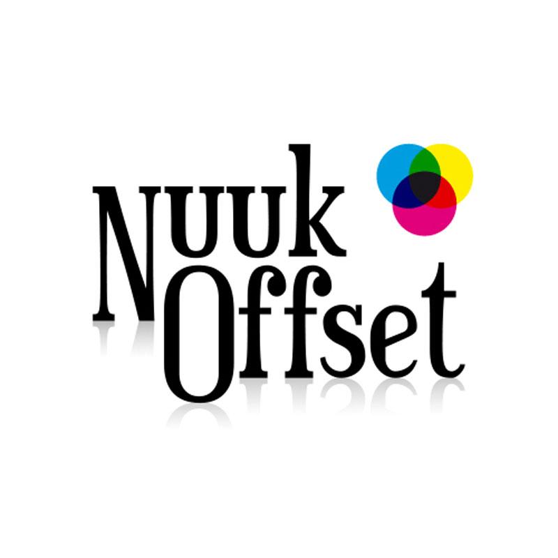 Nuuk Offset logo design