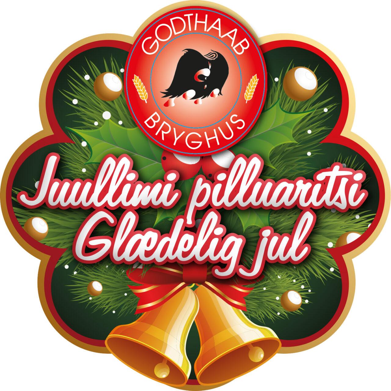 Godthaab Bryghus juleklistermærke