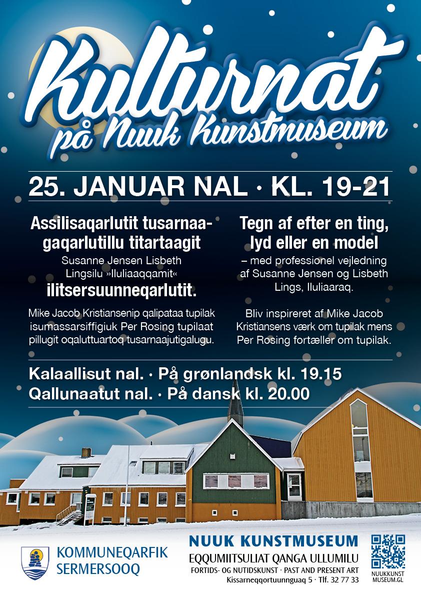 Nuuk Kunstmuseum plakat