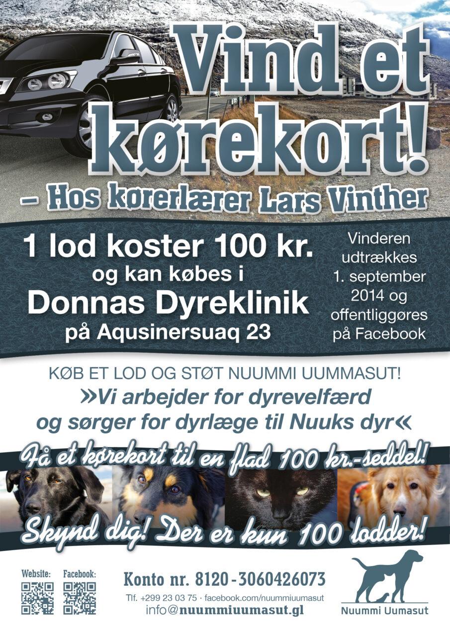 Nuummi Uumasut annonce og plakat