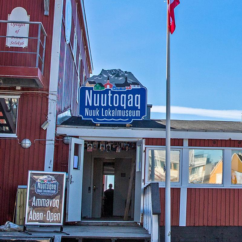 Nuutoqaq – Nuuk Lokalmuseum logo design