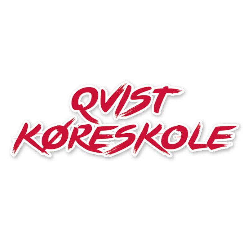 Qvist Køreskole logo design