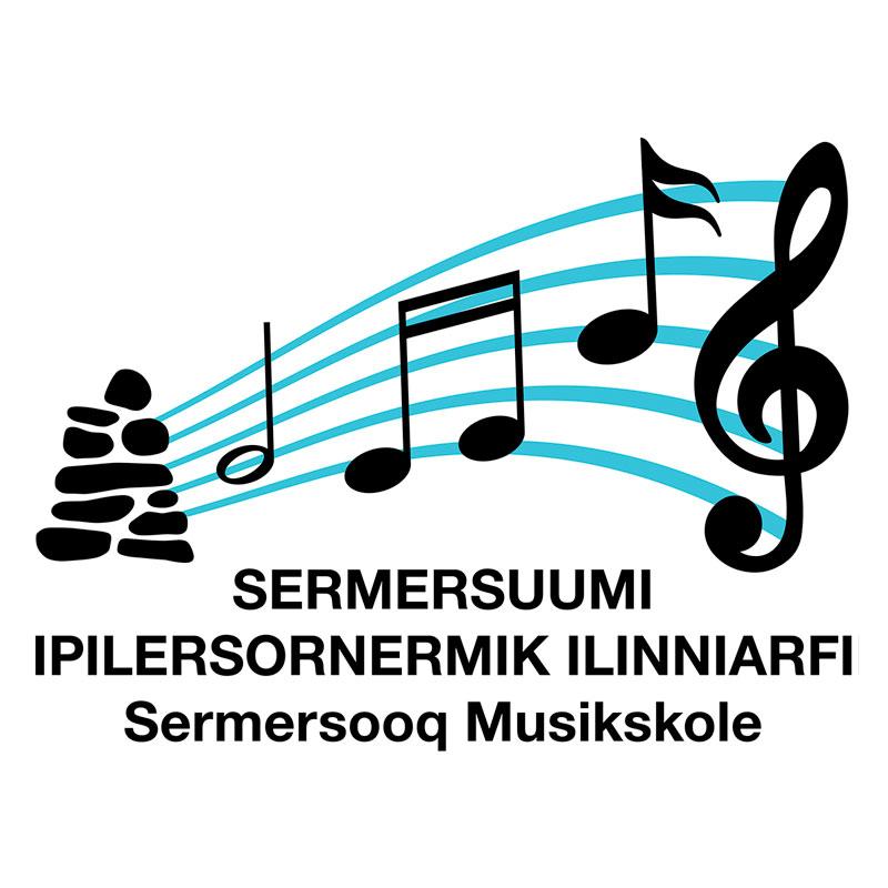 Sermersooq Musikskole logo design