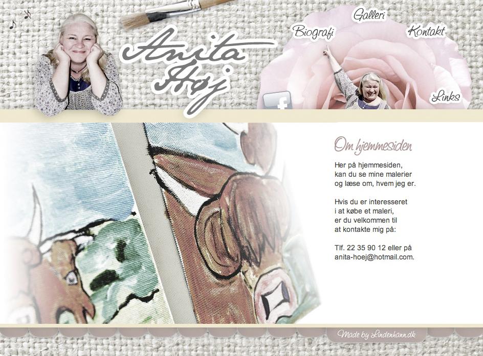 Anita Høj webdesign