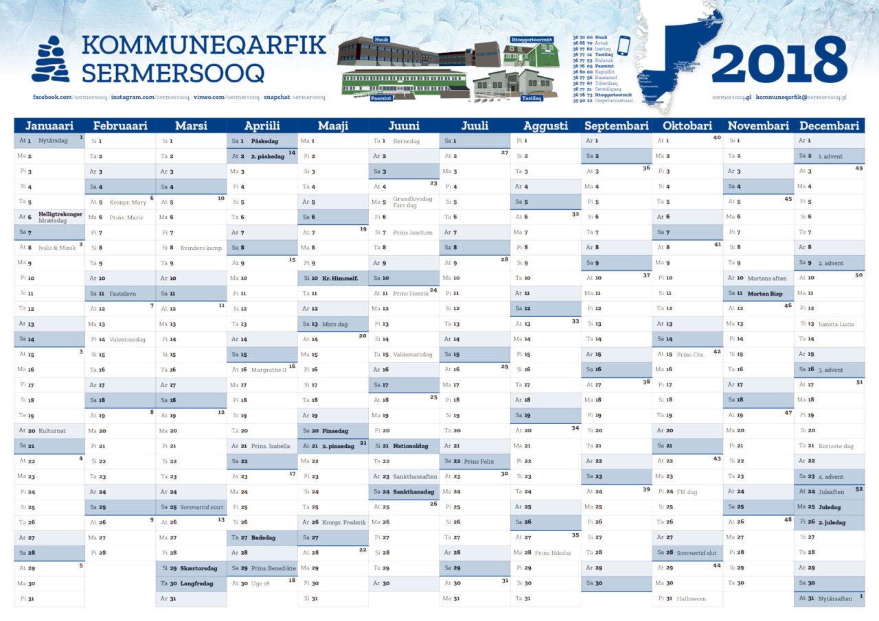 Sermresooq kalender