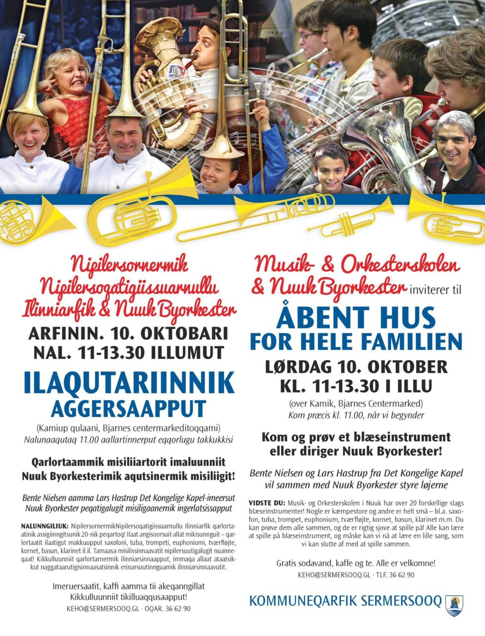 Nuuk Byorkester annonce