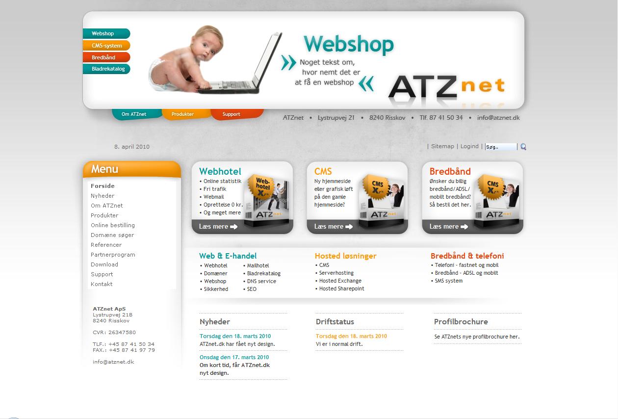 ATZnet webdesign