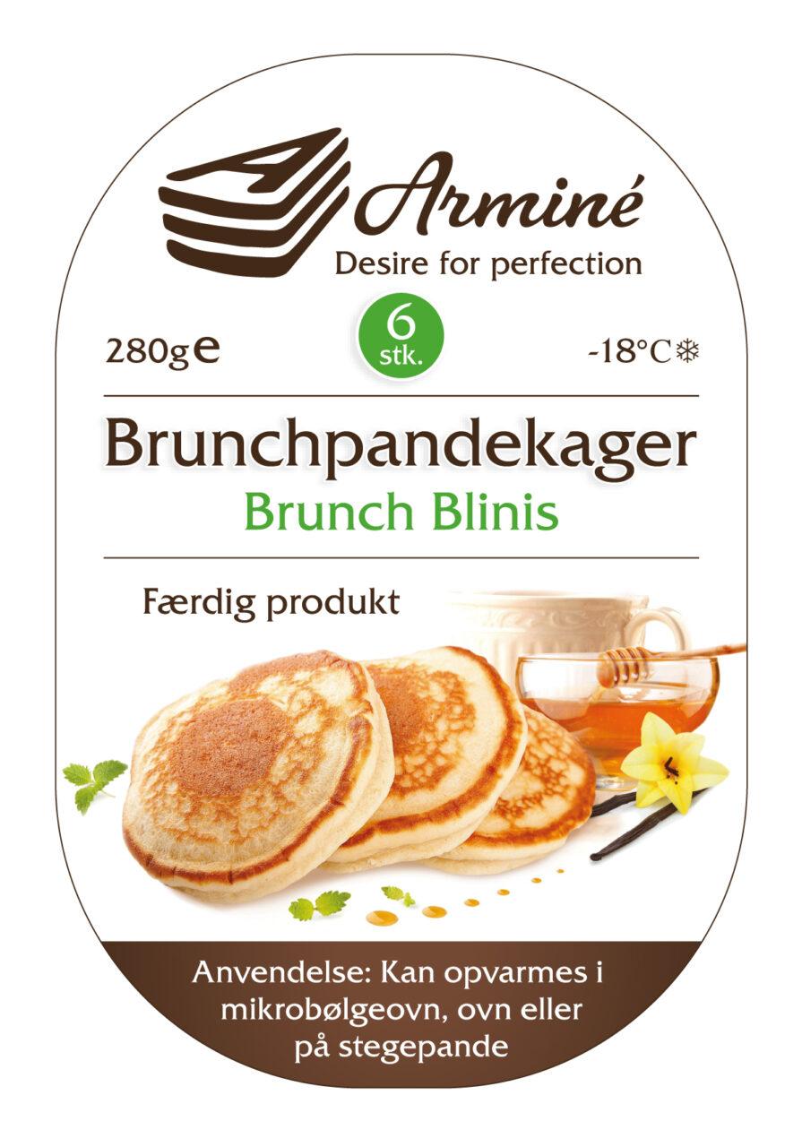 Arminé pandekager etikette