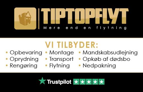Tip Top Flyt visitkort
